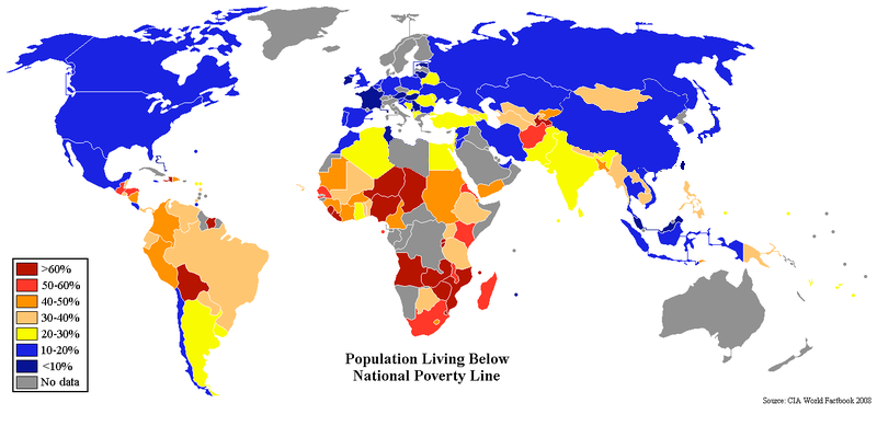 Poverty For Some Is A Problem For All NonProfit Organization - Poverty in the world 2015